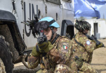 Task force di militari italiani in Libano