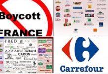 Manifestazioni e boicottaggio