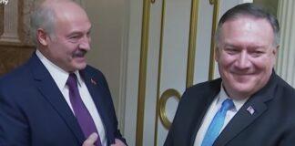Lukashenko a Pompeo