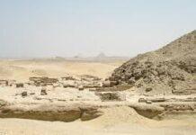 Il sito archeologico di Saqqara