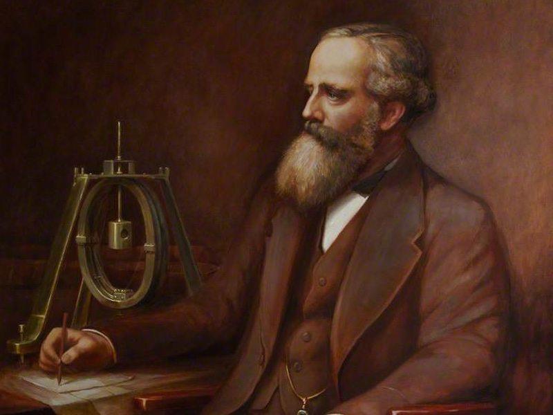 James Clerk Maxwell in un ritratto