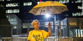 Nonna Wong proteste Hong Kong