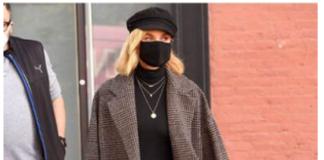 Diane Kruger, il cappotto per eccellenza