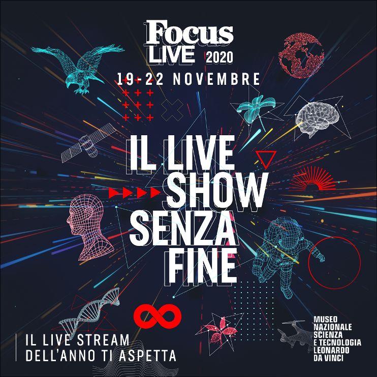 Focus live 2020 - locandina evento - articolo di Loredana Carena -