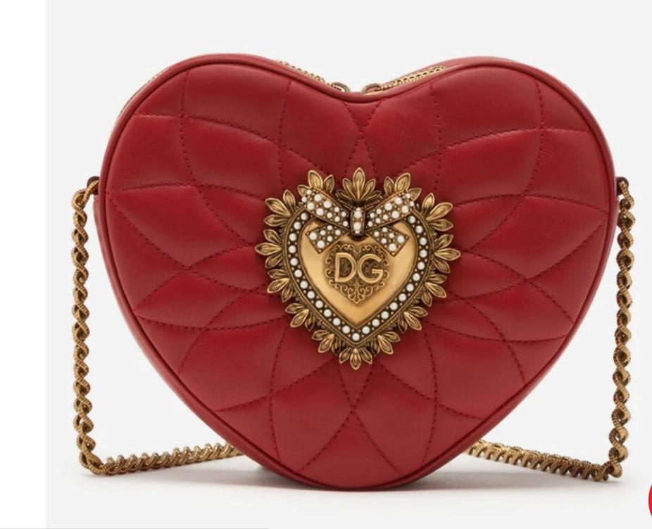 La borsa a forma di cuore