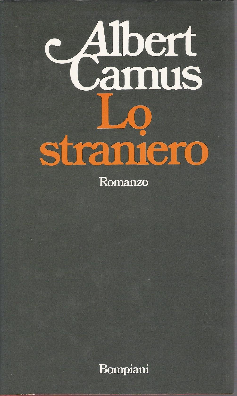 Lo scrittore Albert Camus