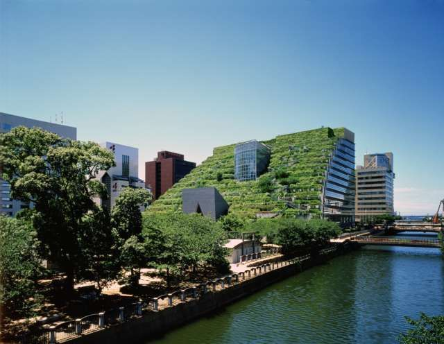 Emilio Ambasz, Fukuoka, Giappone