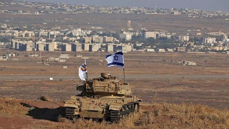 Ritiro israeliano Golan siriano