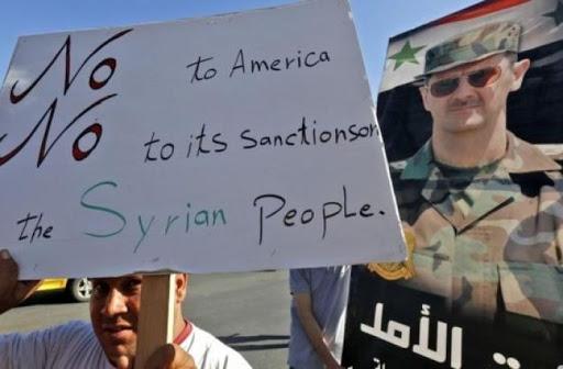 Siria subisce sanzioni statunitensi