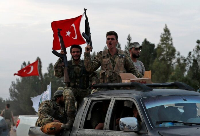 mercenari siriani catturati