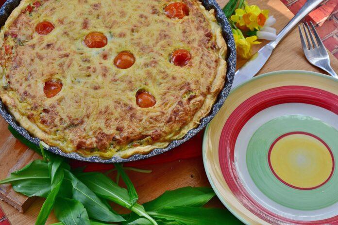 Torta salata casalinga