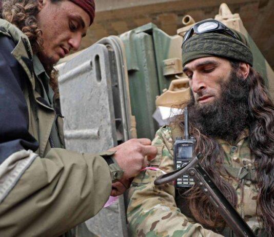 combattenti siriani
