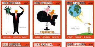 Der Spiegel nomina Trump