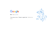 google e youtube down