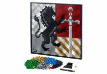 Stemma Lego della casata Grifondoro di Harry Potter