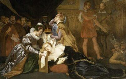 La decapitazione di Maria Stuarda