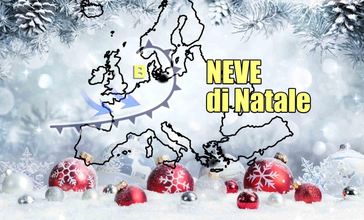 Foto Con La Neve Di Natale.Mezza Europa Sara Sotto La Neve A Natale E In Italia Vedremo La Neve Periodico Daily