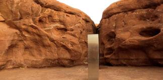 Monolite Utah: è riapparso in Romania