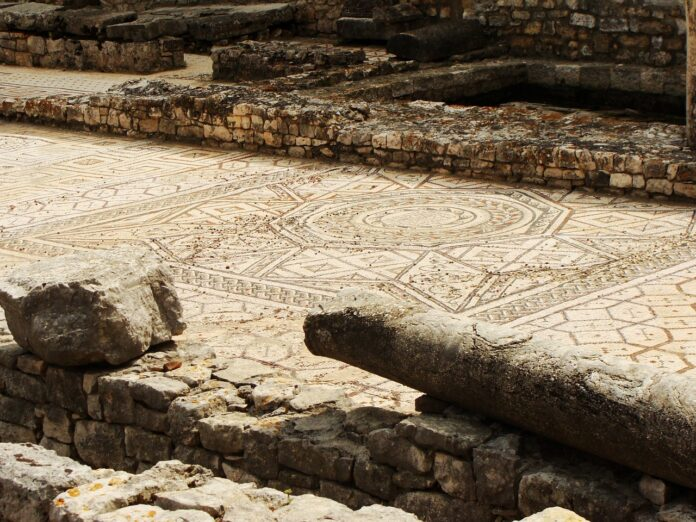 Inghilterra mosaico romano