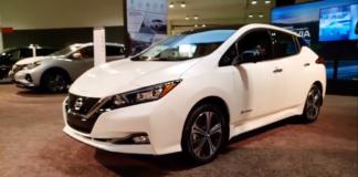 nissan leaf 2021 auto elettriche vendite