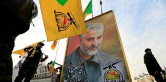 Ritratto del generale Qassam Soleimani