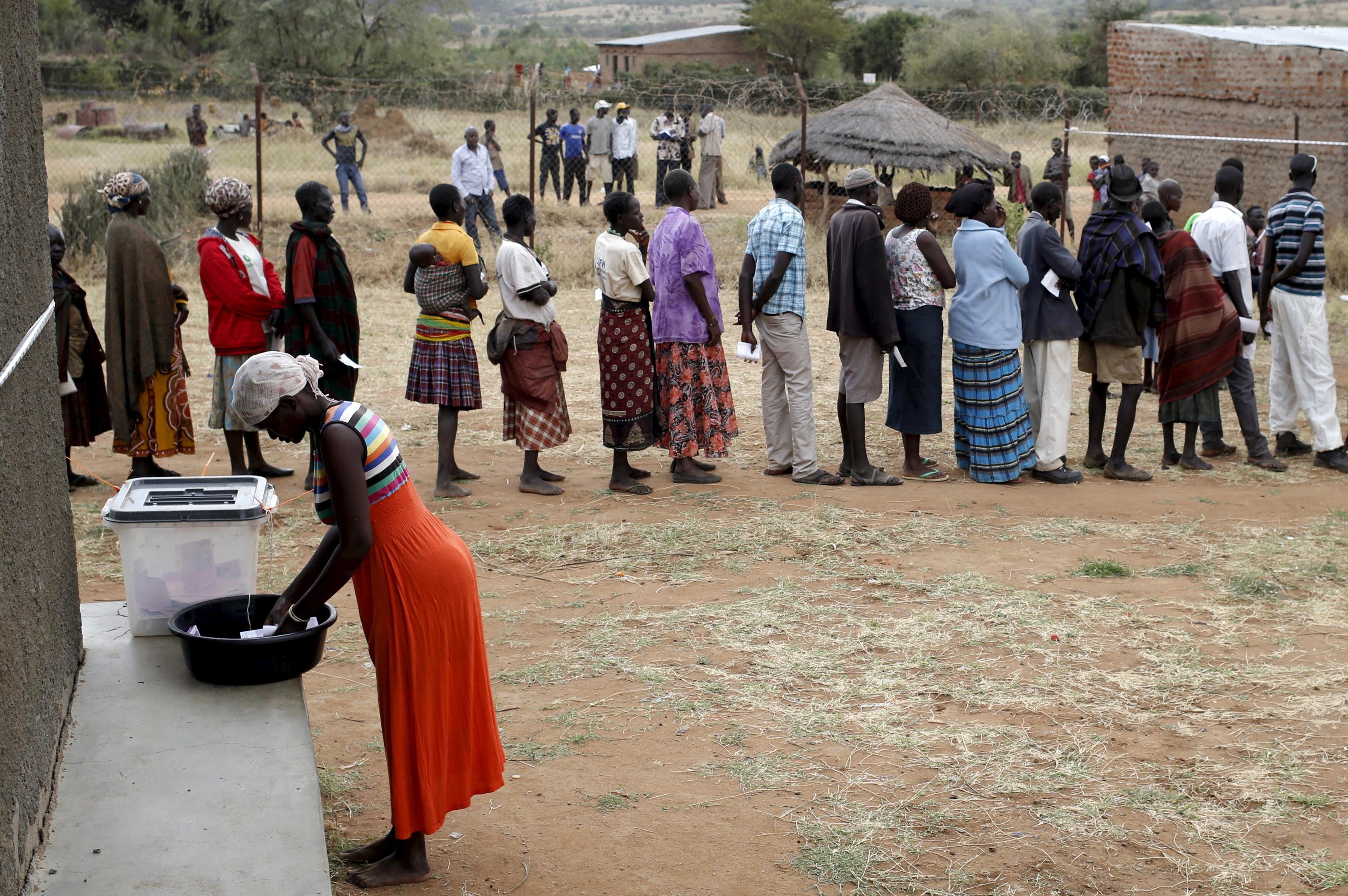 Presidenziali in Uganda