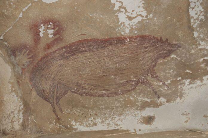 pittura rupestre di Sulawesi