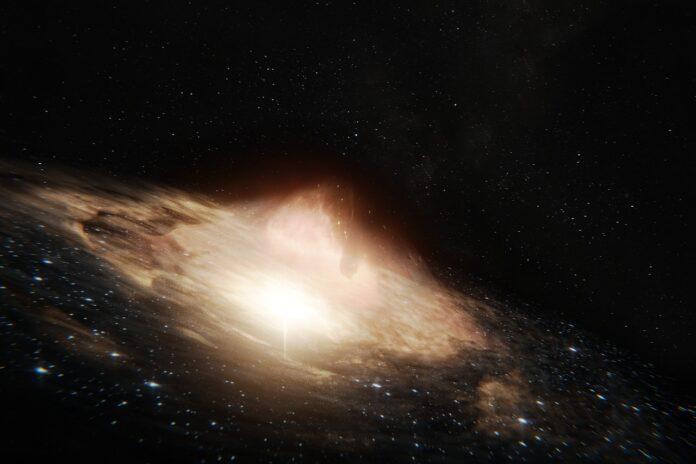 A2261-BCG: una galassia sprovvista di buco nero