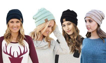 9 cappelli morbidi invernali donna