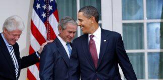 Clinton, Bush e Obama