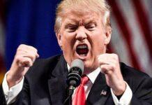 Trump furioso