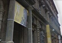 Museo Egizio di Torino, ingresso principale, foto e articolo di Loredana Carena