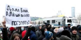 Proteste pro-Navalny