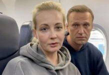Moglie di Navalny