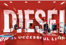 Diesel lancia pop-up store