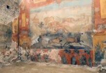 restauro a pompei