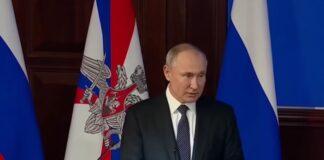 Putin accusa l'Occidente