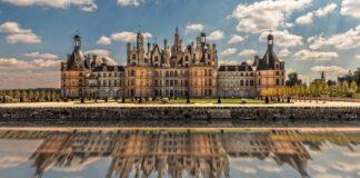 Castello di Chambord che ospitò la Gioconda