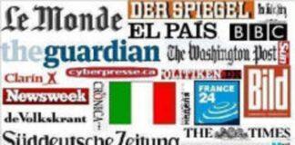 I giornali internazionali