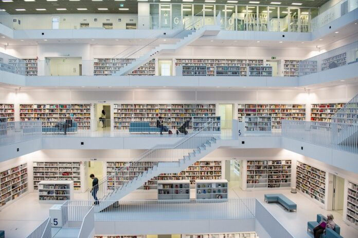 biblioteche dal design suggestivo