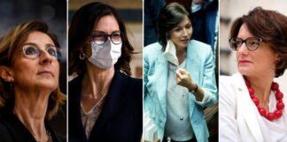 Le donne del nuovo governo Draghi