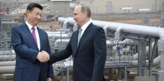 Accordo energetico russo cinese
