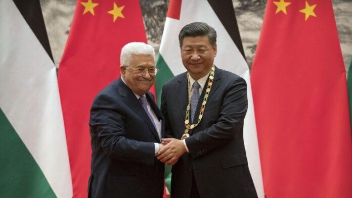 Cina aiuta palestina