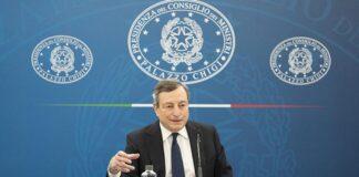 Strigliata di Draghi a Salvini
