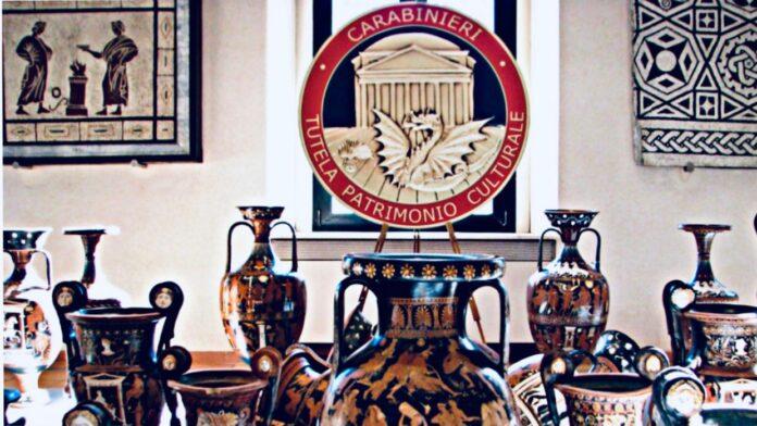Comando Carabinieri Tutela Patrimonio Culturale (rielaborazione fotografica di Loredana carena ) articolo di Loredana Carena