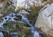 acqua calda nelle alpi