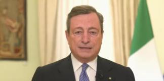 Draghi visita il centro vaccinale