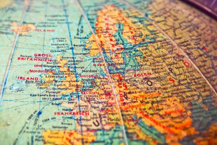 viaggio attraverso l'Europa