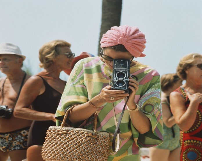 Grace Kelly look estate anni 70
