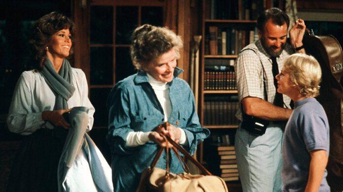 Katharine Hepburn look On Golden Pond